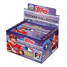 2017 TOPPS MLB STICKERS BOX 50 PACKS WITH 8 STICKERS PER PACK WITH ALBUM NEW
