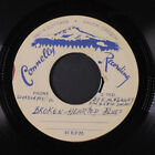 EMMETT KENNEY Broken Hearted Blues Answer To My Dream 45 acetate old timey