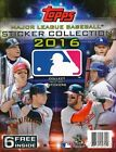 2016 Topps Baseball Sticker Album with 6 Bonus Stickers! ONE BOX Of 14 Total
