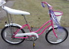 Schwinn Stingray Girls Pink Bike Bicycle 1980 Fair Lady