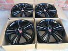 20 Jaguar XF XK Selena OEM Factory Wheels Rims S Type 59840 Black
