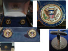 Pair of new Barack Obama Presidentail Helicopter Squadron cufflinks    HMX-1