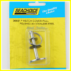 Marine Boat Stainless Steel Hatch Cover Pull Hidden Pin Button Seachoice 36691