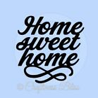 DIY Home Sweet Home vinyl decal to fit 8x 8 glass block