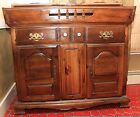PRICE DROP!  dry sink/bar with great finish and in great shape
