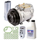 New AC Compressor  Clutch With Complete A C Repair Kit For Geo  Toyota