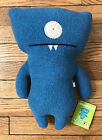 UGLYDOLL 14 WEDGEHEAD CLASSIC UGLY DOLL BLUE PLUSH TOY RETIRED IN 2003 10081