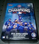 2016 topps chicago cubs world series limited edition set unopened factory box!!