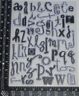 NEW  Prima Clear Stamps 1 2 Lowercase Alphabets Timbres Transparents