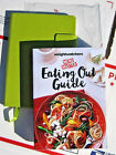 Weight Watchers Smart Points MENU MASTER Eating out Guide + Journal book green