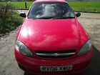 LARGER PHOTOS: 2006 CHEVROLET LACETTI SE RED /spares or repairs