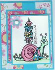 Our Craft Lounge Snail Mail Rubber Stamp set