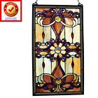 Tiffany Style Suncatcher Stained Glass Window Panel 26 Hanging Decor Art