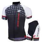 Pro Men Bike Cycling Jersey Shorts Kits Team Riding Race Shirt Pants Outfits Set