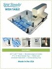 ELNA Sewing Machine - Sew Steady Ultimate Wish Table PACKAGE