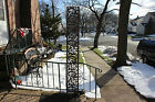 Vintage Garden Trellis-Metal W/Rose Flower Designs-84