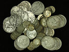 100 Face Value of 90 US Silver Coins A Mix of Half Dollars Quarters Dimes
