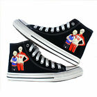 Anime YURI on ICE Yuri Victor Canvas Shoes Sneakers women Athl Free shipping