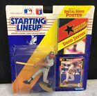 1992 WILL CLARK STARTING LINEUP  FIGURE W/ CARD &  11