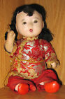 VINTAGE JAPANESE ICHIMATSU BABY DOLL WITH GOFUN CRUSHED OYSTER SHELL HEAD H