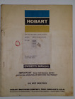 Hobart Owner's/Technical Manual Model No. TM-231 June 20, 1973