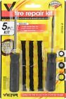 Victor Tubeless Radial Tire Repair Kit Replacement String Plugs Rasp Insert Tool