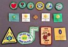 Girl Scouts of the USA Badges Patches  Pins 1970s + a 1950s Pin Lot of 15