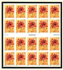 3898 Love Sheet of 20 mint nh stamps 37
