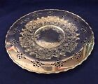 VINTAGE SILVER PLATE ROUND TRAY/PLATE BY WM. A. ROGERS WITH RARE DESIGN 13