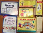 ABEKA Phonics Arithmetic Flashcards Charts Cards A Beka 1st 2nd Grade 1 2 Cards