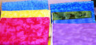Cotton Flannel Quilting Fabric Mottled Pattern Huge Lot Blue Yellow Pink Purple