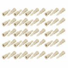 10mmx33mm Nylon Pointed Tip Hollow-Wall Self-Drilling Drywall Anchor 50pcs