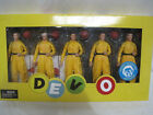 NECA Devo Action Figure 5-Pack with Autographed Mini-Poster  RARE! (HKW7-426)