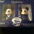 Vinylmation Mickey and Minnie Mouse 3 Figure Set Disney Store 30th Anniversary