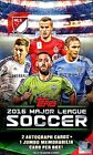2016 Topps MLS Major League Soccer Cards Hobby Box with 24 Packs