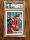 Mike Trout Signed 2010 Topps Debut. Psa ROOKIEGRAPH. Look At The Photos.