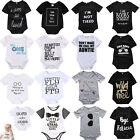Newborn Infant Kids Baby Boy Girl Romper Bodysuit Jumpsuit Clothes Outfits Lots