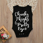 Newborn Infant Baby Boys Girls Cotton Romper Jumpsuit Bodysuit Clothes Outfit US