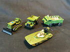 Matchbox Superfast Army Vehicle LOT Dumper Tractor Swamp Rats Personnel Carrier