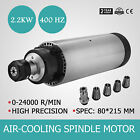 2.2KW ER20 Air Cooled Spindle Motor 24000RPM Engraver Precise Engraving GREAT