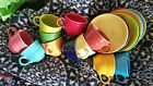 Fiestaware cups and saucers