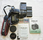 Canon EOS 20D 82MP Digital SLR Camera Kit w lens batteries charger etc