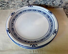 4 Tienshan Folk Craft Blue HEARTS TIE29 Pattern Stoneware Dinner Plates 4 PIECE