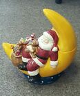 Santa Moon Cookie Jar 12