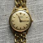 Vintage Junghans Chronometer Automatic Used Watch Gold Plated