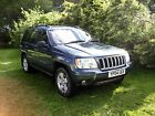 LARGER PHOTOS: JEEP GRAND CHEROKEE 2004 CRD LIMITED AUTOMATIC 4X4 BLUE DIESEL GREY LEATHER