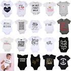 USA Newborn Infant Kids Baby Boys Girls Romper Bodysuit Jumpsuit Clothes Outfits