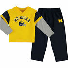 Genuine Stuff Michigan Wolverines Infant French Terry Pant  Jacket Sweat Set