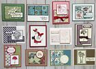 12 Handmade Sympathy Get Well Thinking of You greeting cards env Stampin Up +