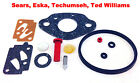 Eska Sears Ted Williams Tecumseh Outboard Motor Carb Carburetor Kit 1961 1987